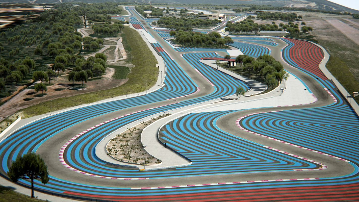 paul ricard track 3d model in 2020 Ricard, Circuit, 3d model