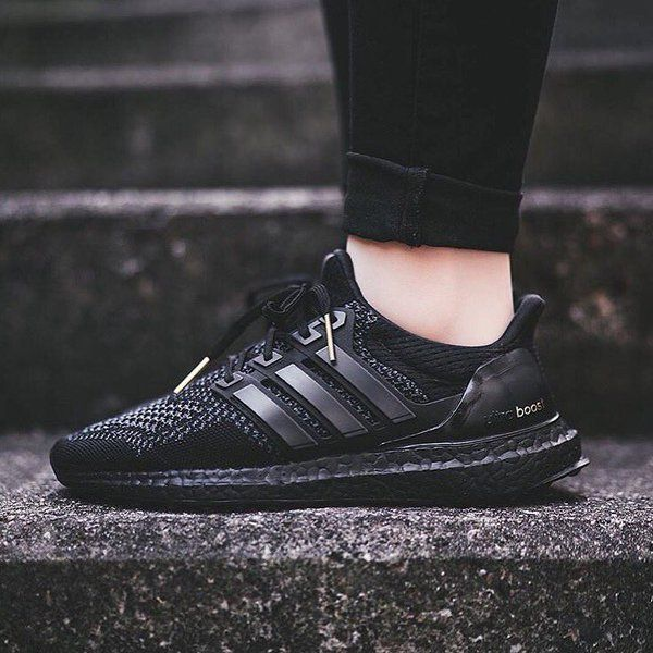 adidas Ultra Boost Triple Black Release Sneakersy męskie  Sneakers men