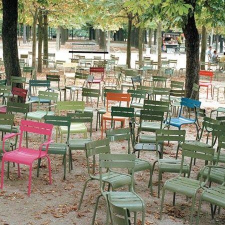 de Chaise 2 Luxembourg Fermob Lot en empilable tilleul 8v0wmONn