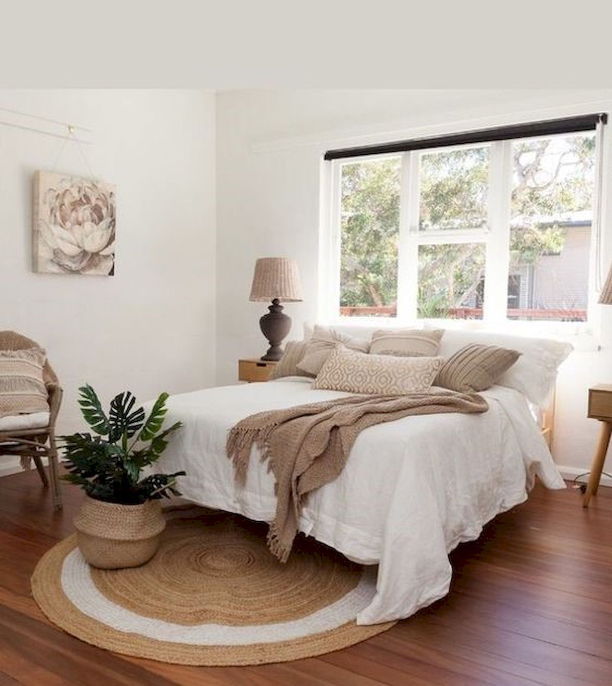 57 Stunning Modern Farmhouse Bedroom Design Ideas and Decor images