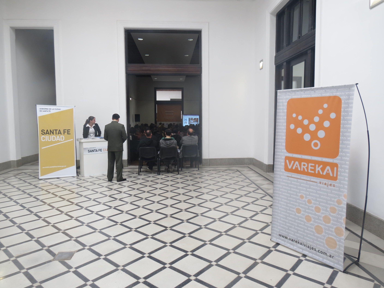 Jornadas de Comercio Exterior organizadas por la municipalidad de Santa Fe. Varekai agencia de viajes receptiva de los disertantes. JUNIO 2013