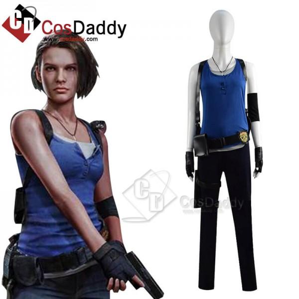 Resident Evil 3 Remake Jill Valentine Classic Costume Outfits Cosplay 2020 Resident Evil 3 Remake Remade Resident Evil