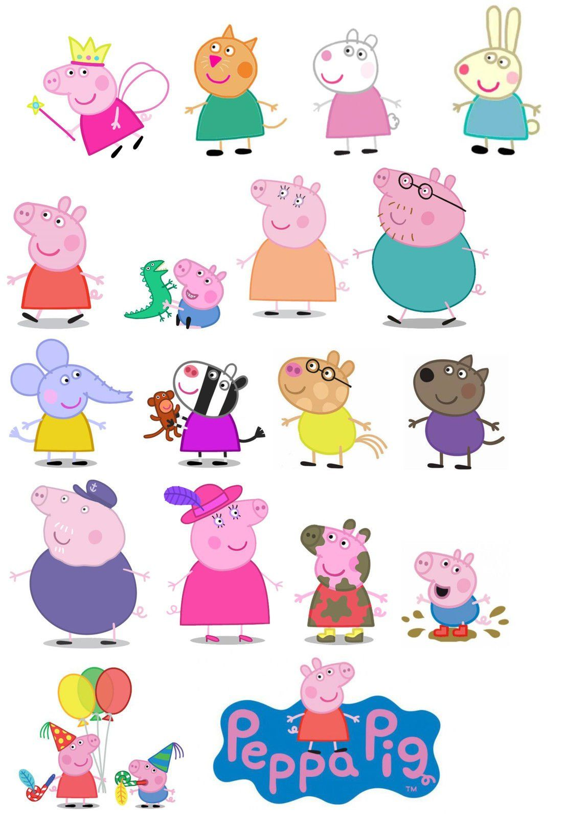 7128c9htwtl Sl1500 Jpg 1078 1500 Invitaciones De Cumpleaños De Peppa Pig Peppa Imagenes Peppa Pig Cumpleaños Decoracion
