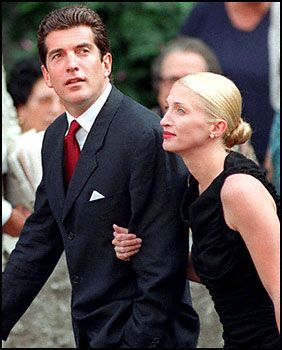 JFK Jr. And wife, all of the guidos, gaudy and tacky people in the world should look at these two and get a clue.