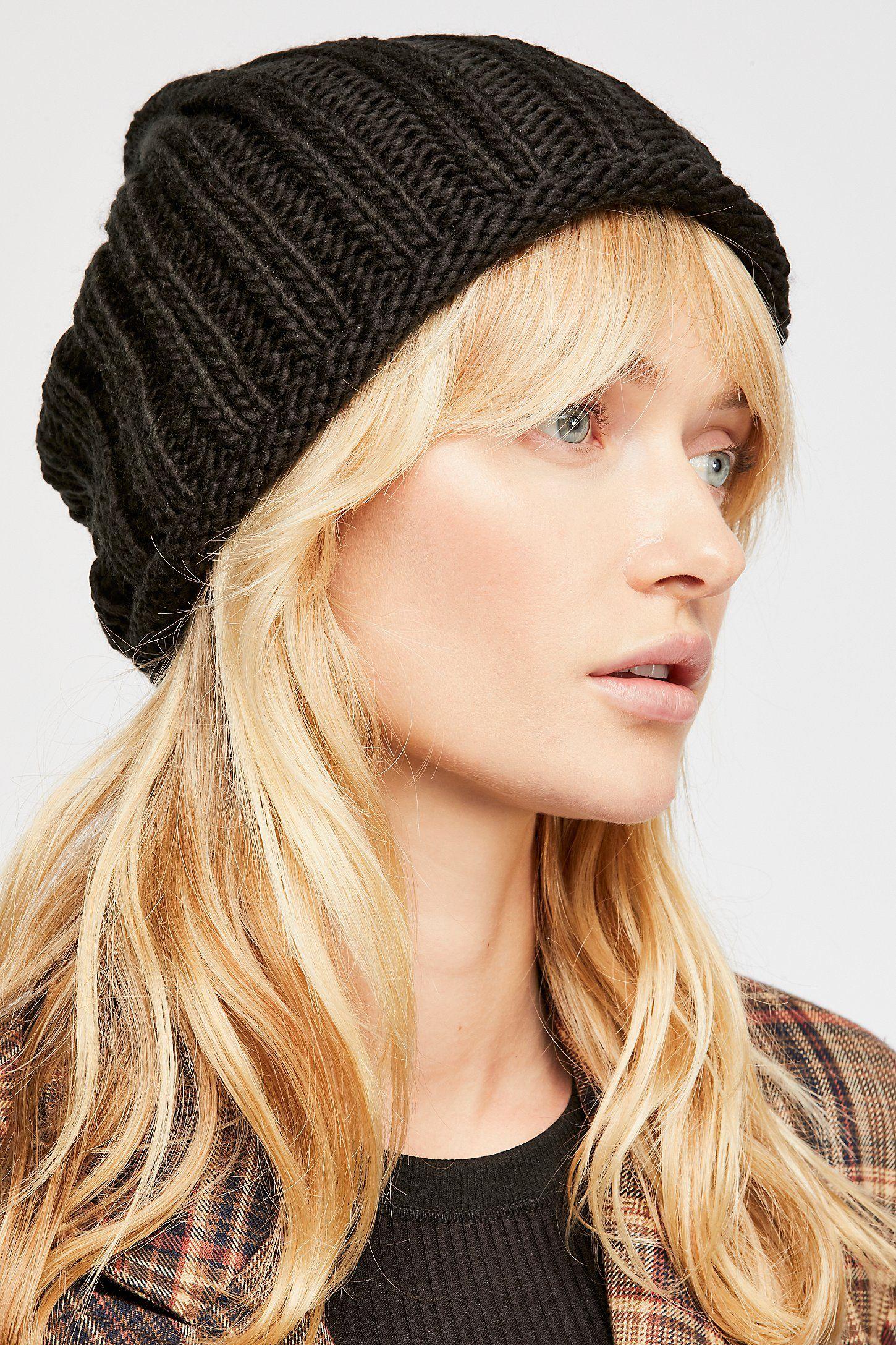03dd4319f2 Rory Rib Knit Beanie | Blondes Have More Fun | Knit beanie, Rib knit ...