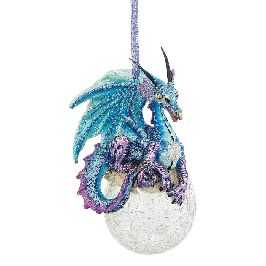 Frost, the Gothic Dragon 2013 Holiday Ornament (Set of 3) | A cool ...