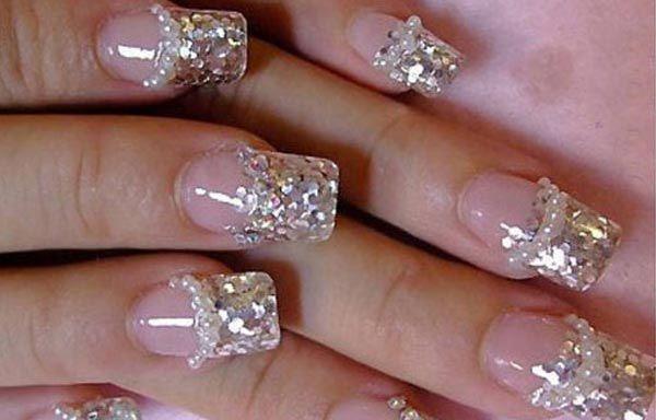 diseos de uas decoradas diseo de uas decoradas con diamantes y brillantes sguenos - Unas Decoradas