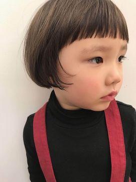 マッシュボブ キッズヘア キッズカット女の子 二子玉川 Terra By