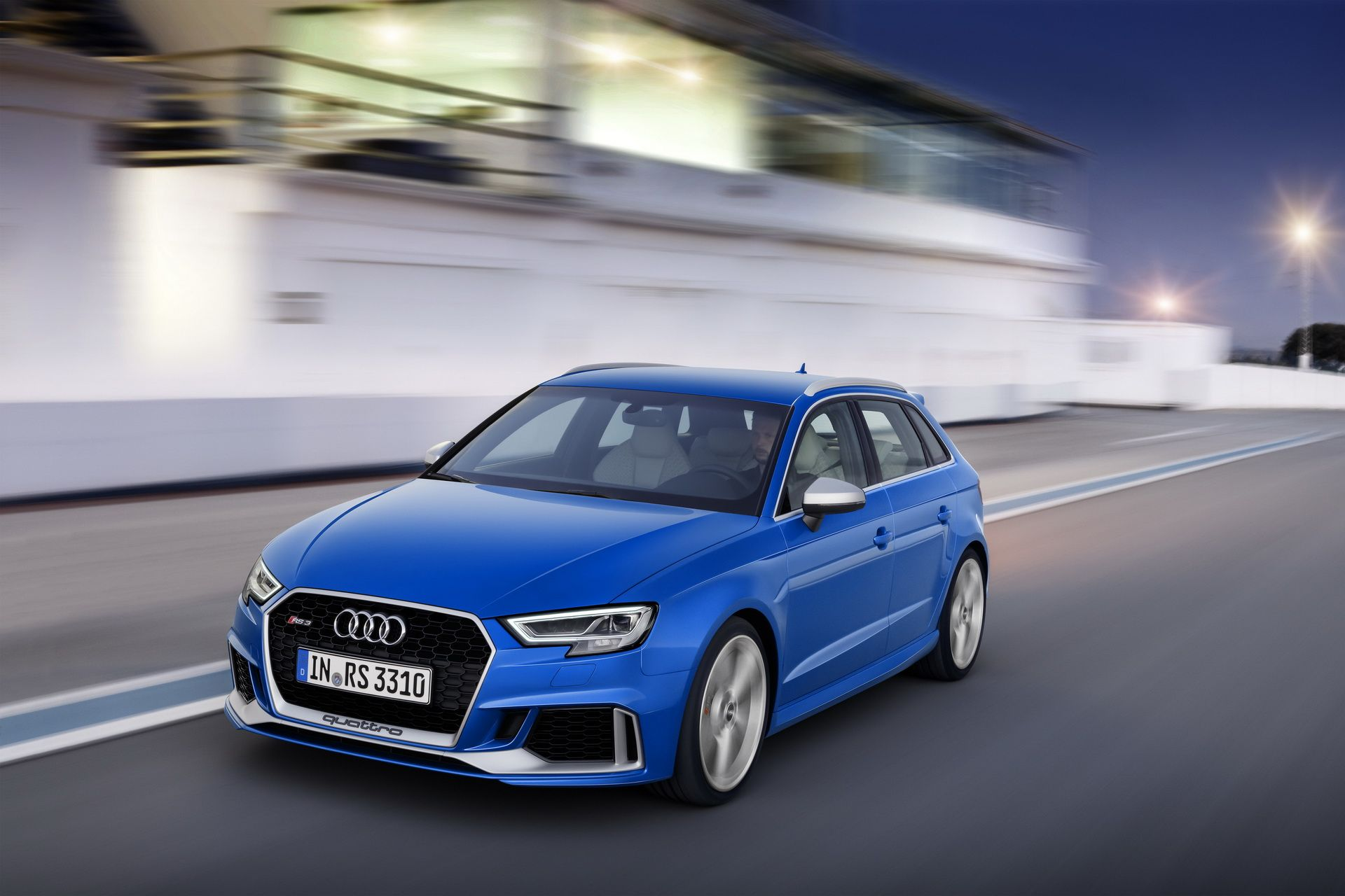 The New Audi Rs3 Sportback With 400ps Even More Powerful And Well