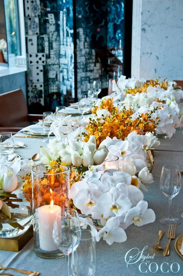 styled by coco flowers elegant table table decorations table rh pinterest com