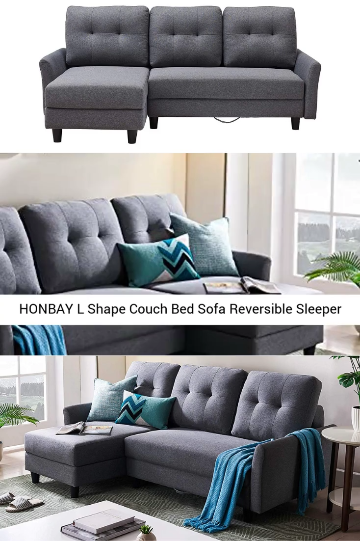 Honbay L Shape Couch Bed Sofa Video Affordable Sofa Bed Sofa Bed Sofa Bed Sale
