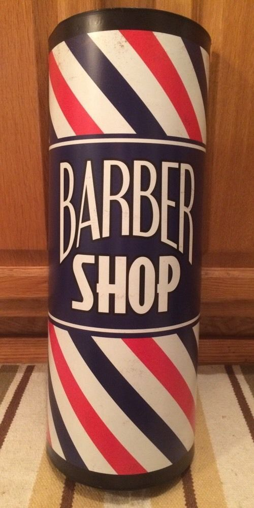 BARBER SHOP POLE Flat Top Metal Shave Oster Clippers Hair ...