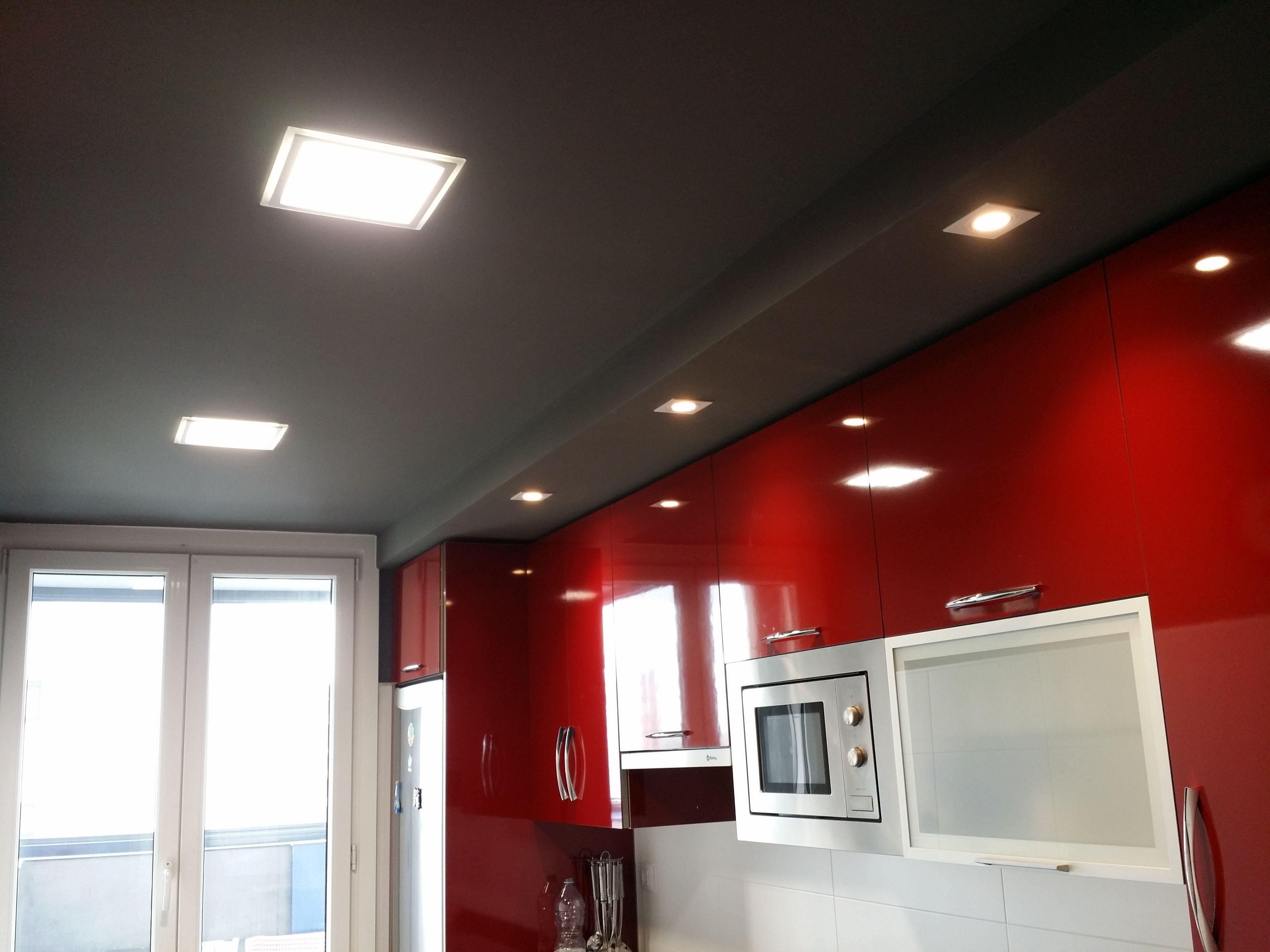 Proyecto de iluminacion de cocina con Downlight LED de Maslighting ...