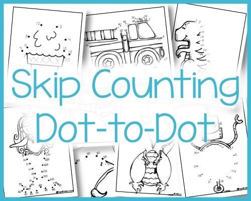 skip counting dot to dot math activities for kids skip counting skip counting activities. Black Bedroom Furniture Sets. Home Design Ideas