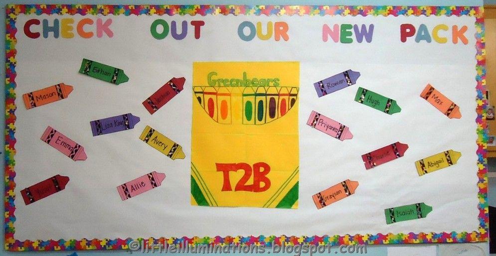 Welcome Bulletin Board Ideas For Preschool