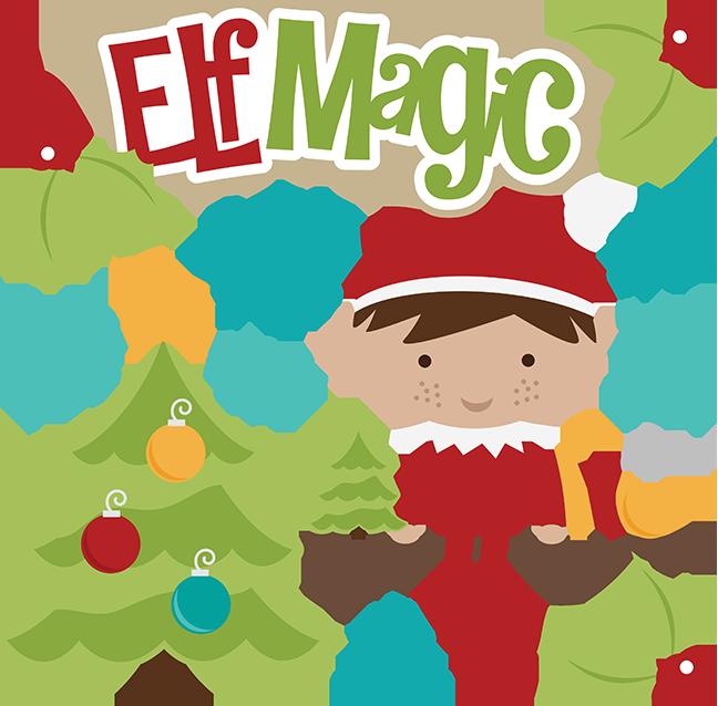 Elf Magic SVG christmas svg files elf svg file shelf svg