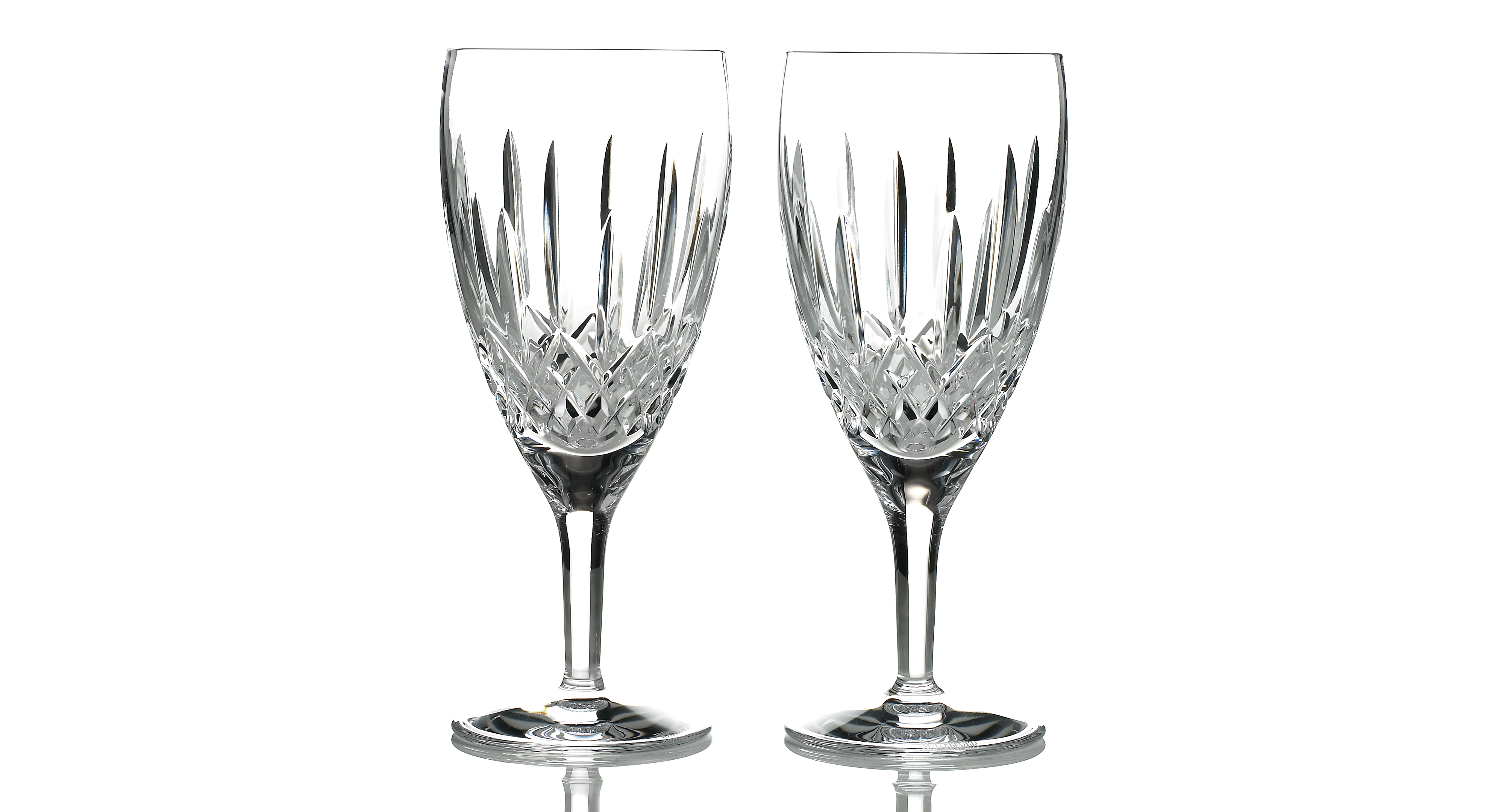 Waterford Stemware, Lismore Nouveau Iced Beverage Glasses, Set of 2