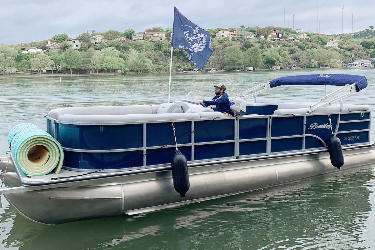 Float on lake austin boat rentals lake travis boat