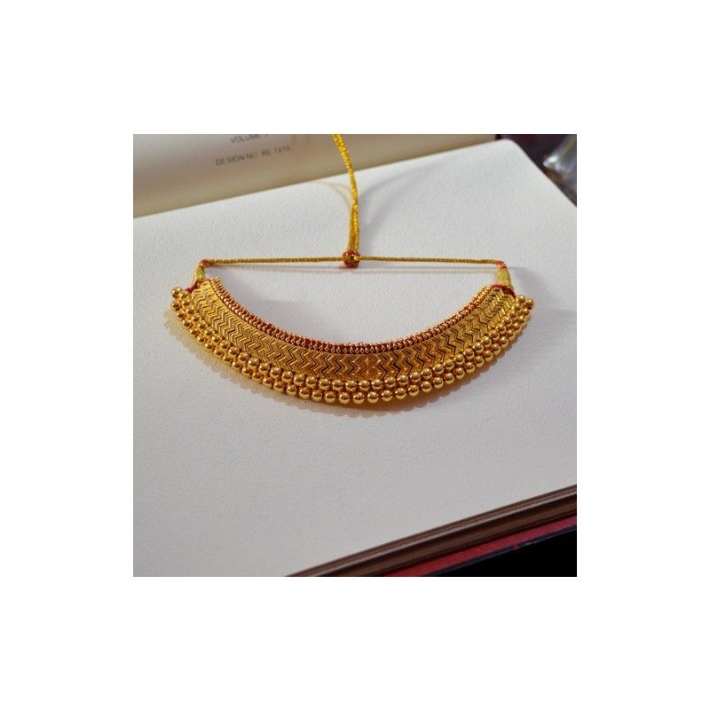 Copper base and gold plated  sc 1 st  Pinterest & Aadyaa Originals | Buy Aadyaa Originals Full size vajrateek Gold ...