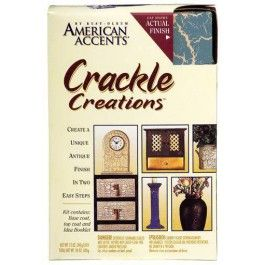Rust Oleum American Accents Crackle Spray Paint Kit With Images Rustoleum Crackle Spray Paint Enamel Spray Paint