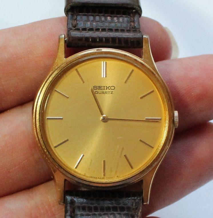 6b34622c7cb Men s SEiKO Gold Tone Dress Watch  Seiko  Dress