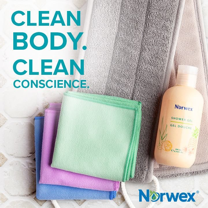 Norwex Microfiber offers you a powerful clean with nothing