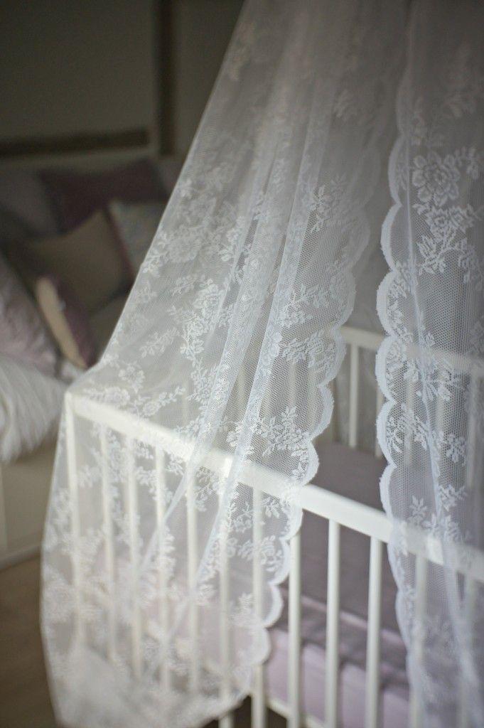 So cute... I think those are Ikea curtains