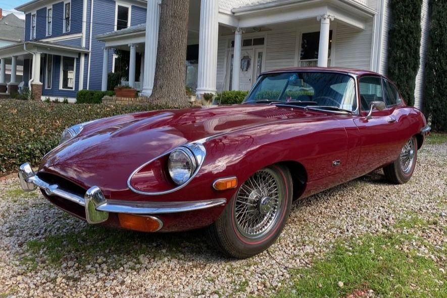 BaT Auction: 1971 Jaguar XKE Series II Coupe