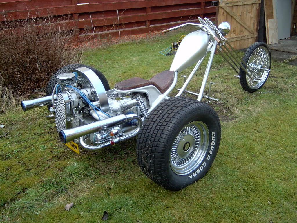 Clean Silver Fox Vw Trike Trike Motorcycle Trike