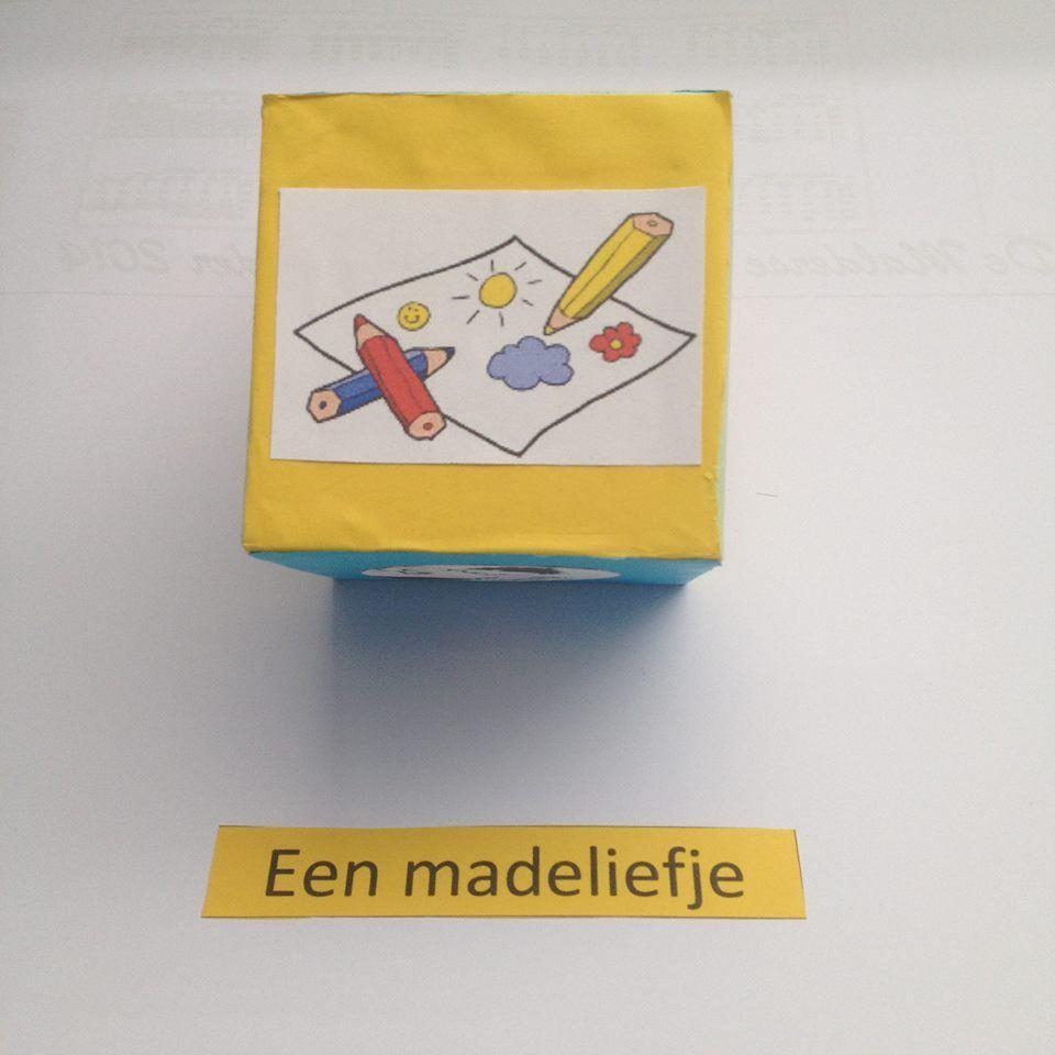"""Spel woorden: """"Ik begrijp je niet..."""" (Gooi je deze picto met de dobbelsteen? Dan moet je het woord dat op je getrokken kaartje staat, tekenen voor de andere leerlingen.)"""