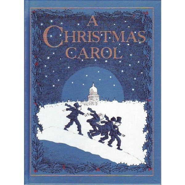 Book covers A Christmas Carol Tattered but still lovely ❤ liked on Polyvore featuring home and home decor