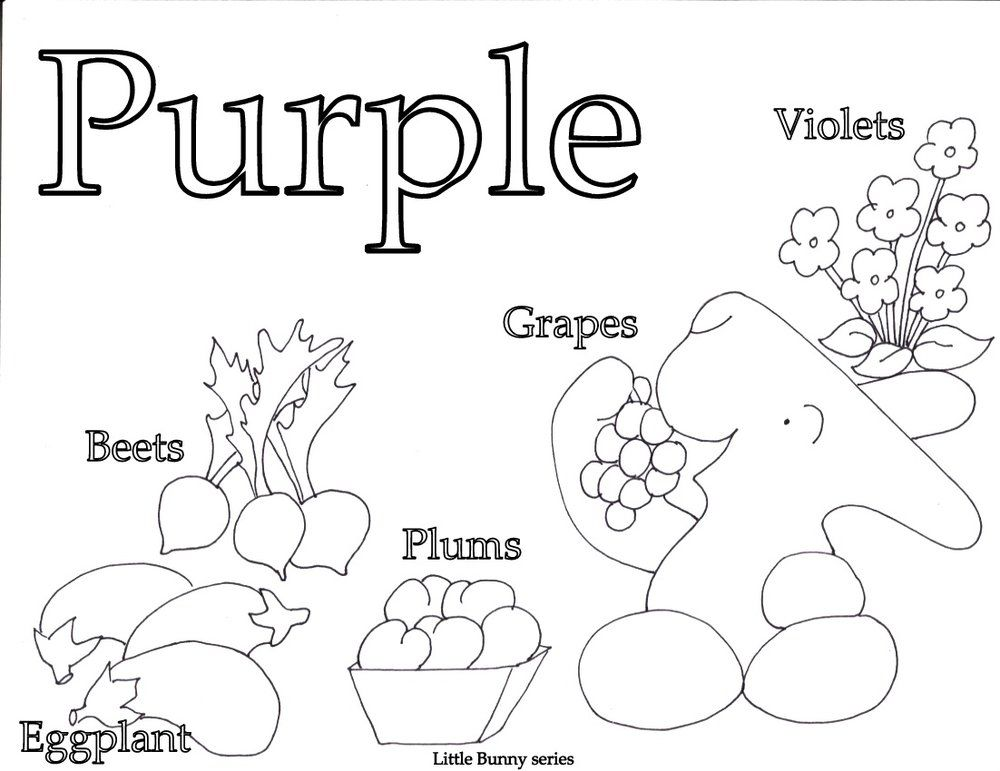 Purple Coloring Page Pdf Letter A Coloring Pages Preschool