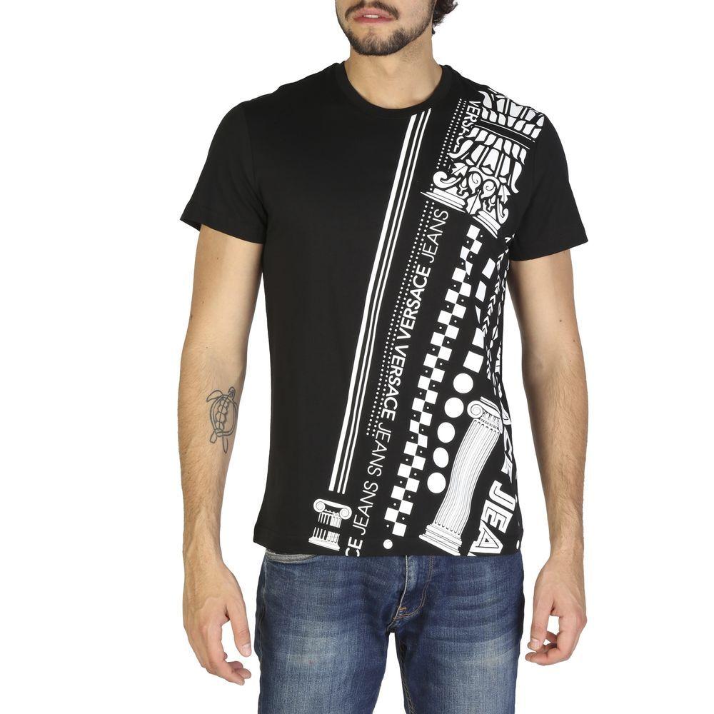 Versace Jeans B3grb77h36590 Black White T Shirts Xl Ebay Versace Jeans Versace Jeans T Shirt Versace Jeans Mens