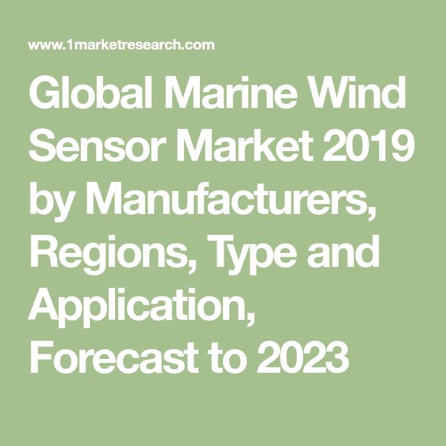 Global Marine Wind Sensor Market 2019 by Manufacturers