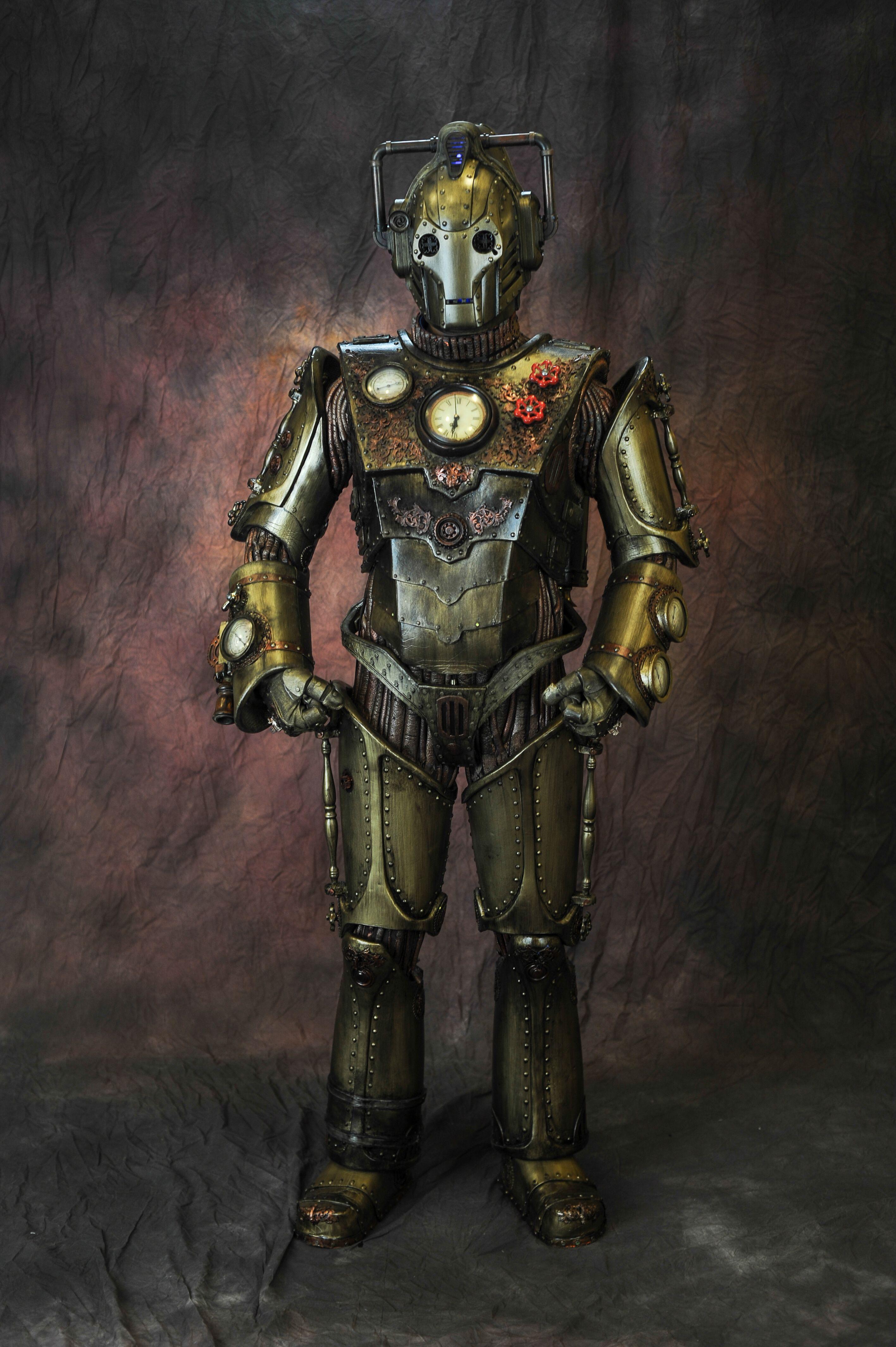 Steampunk Iron Gentleman Cyberman Doctor Costume