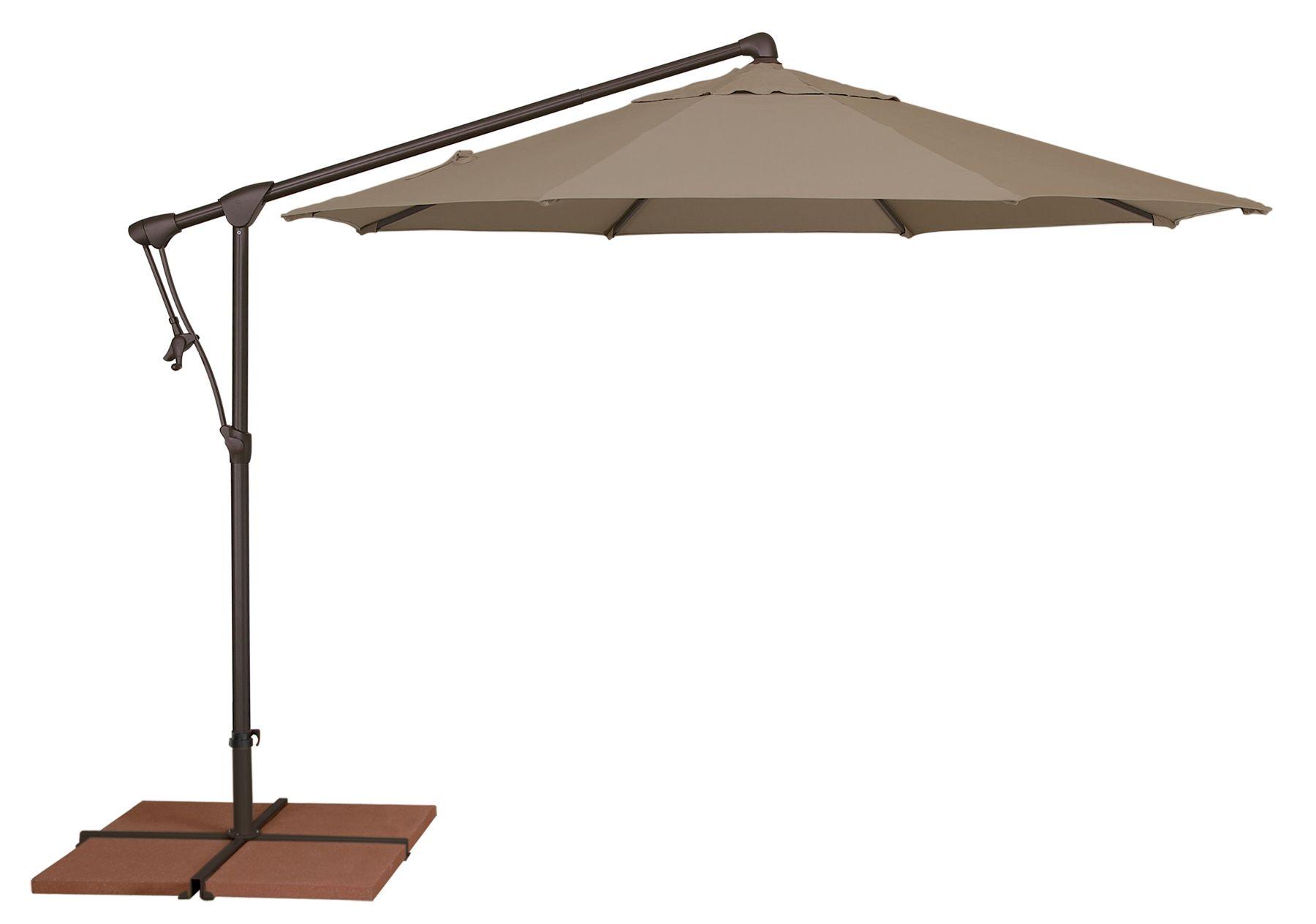 AG19 Cantilever Umbrella by Treasure Garden