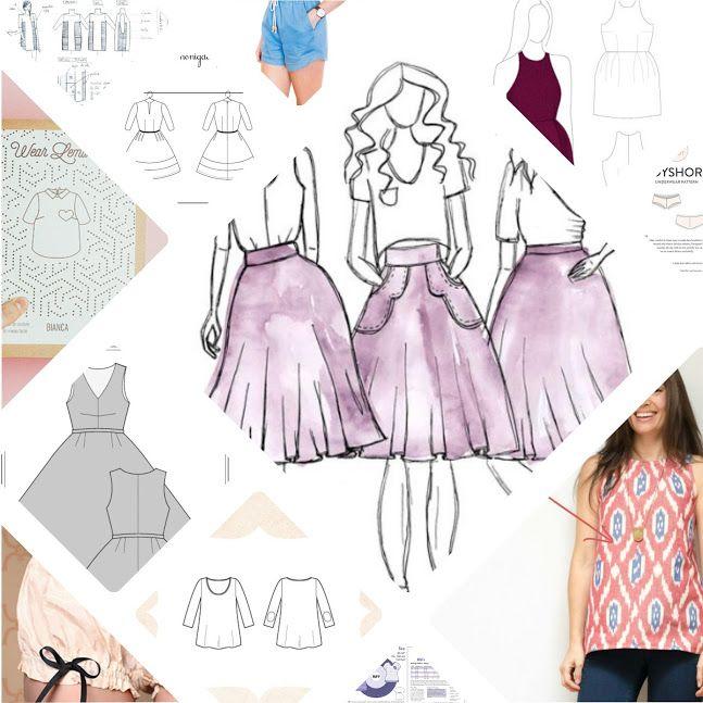Free Online Patterns | sew.sew.sew | Pinterest | Dressmaking ...