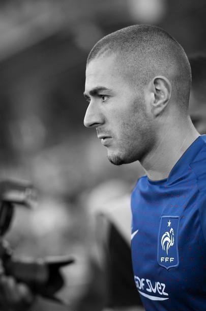 Karim benzema corte de pelo