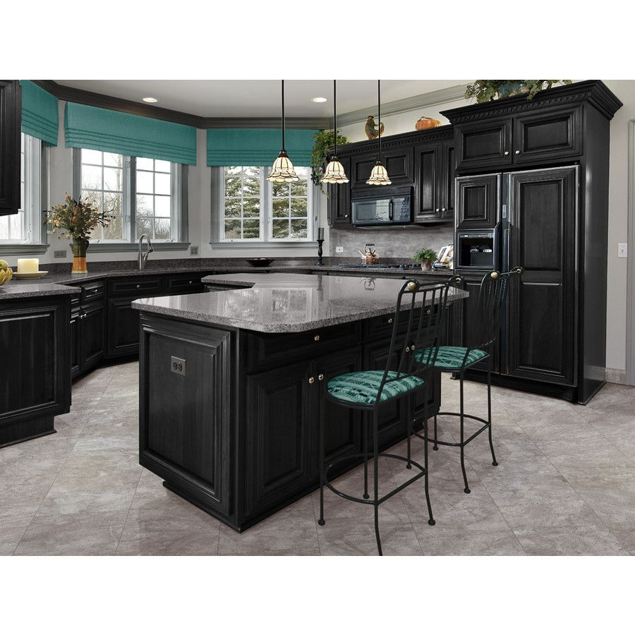 Allen roth glazed wall chocolate ceramic bullnose trim common 1 - Shop Style Selections Bagnoli Noce Porcelain Floor And Wall Tile Common X Actual