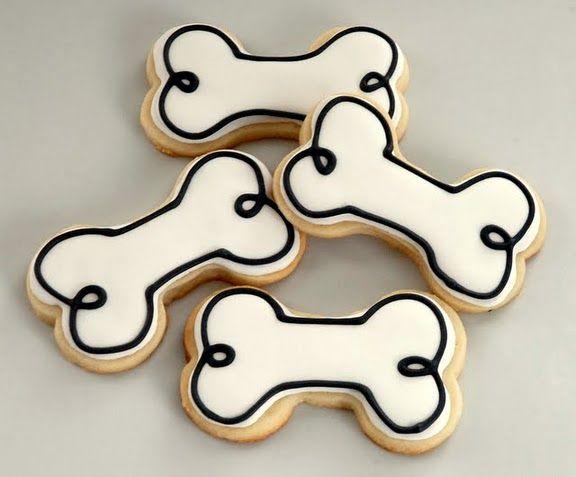 Cartoon Bone Cookies From Marriage To Motherhood Dog Shape