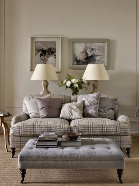 Tweed Sofa Country Living Room Cottage Living Rooms Living