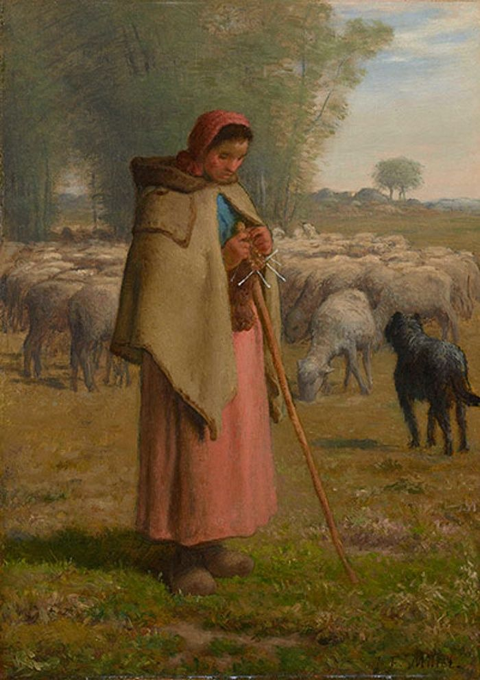 Shepherdess Plains of before 1862, by Jean