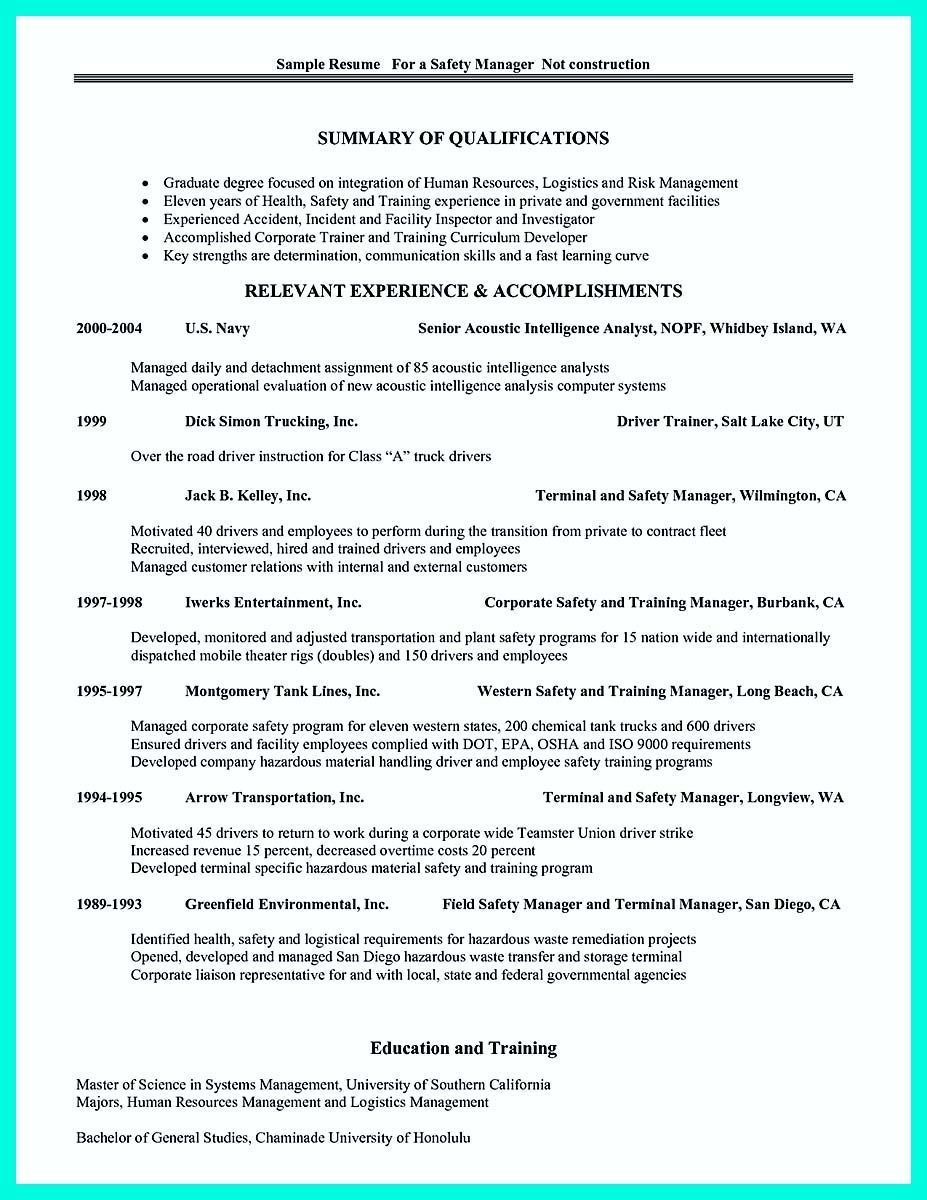 Project Resume Example Manager Resume Example Construction Sample Best Project  Resume .