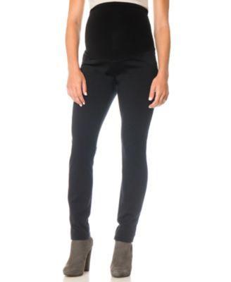 d8d7006e1a71b Motherhood Maternity Petite Skinny Ponte Pants - Black PM | Products ...