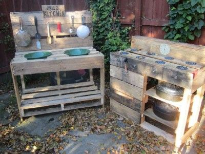 Instructions To Build A Play Kitchen With Pallets Mud Kitchen Pallet Mud Kitchen Ideas Mud Kitchen For Kids