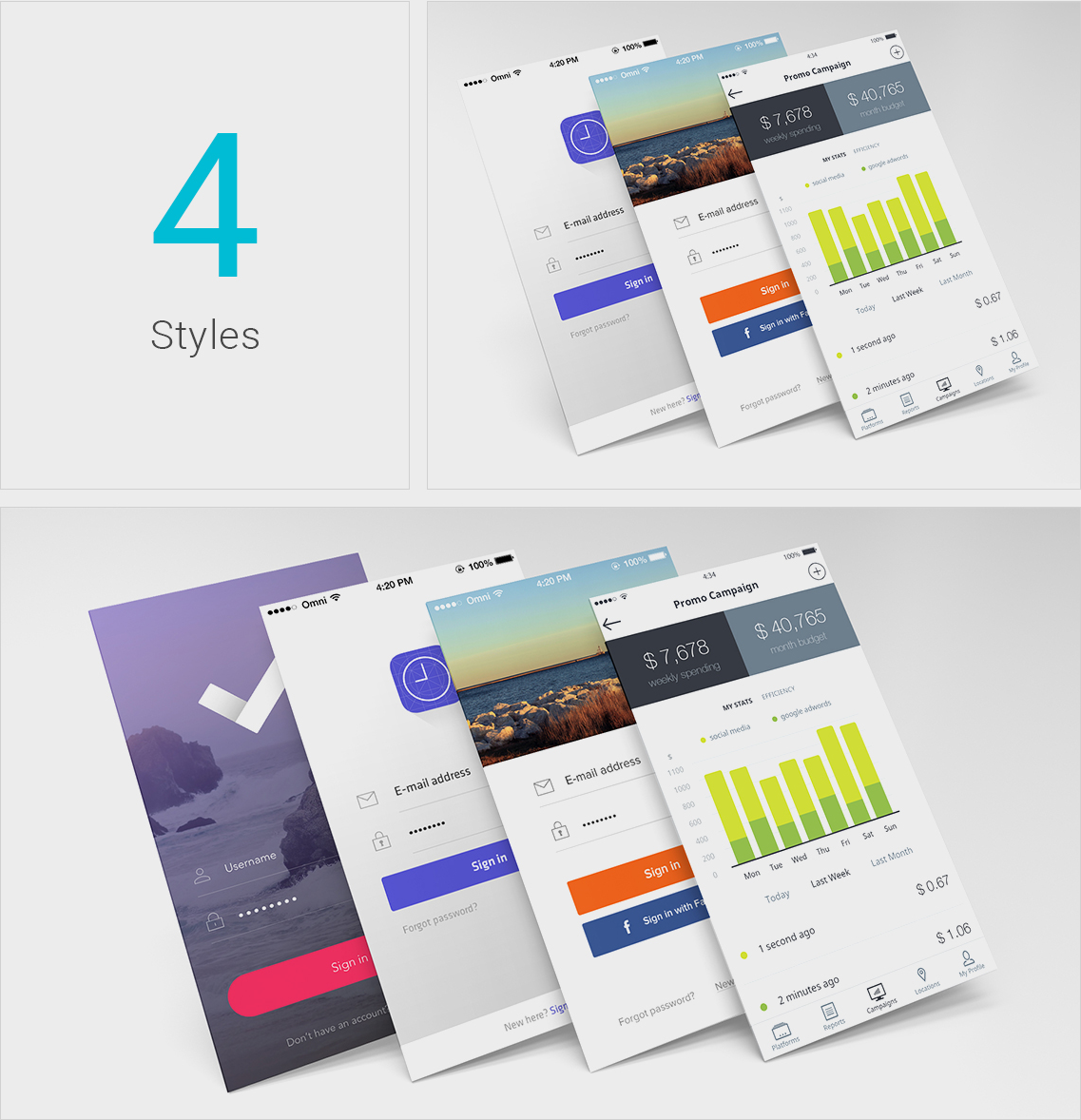 Free Perspective Mobile App Screens Mockup Freebies Fribly Mobile App Free Graphic Design App