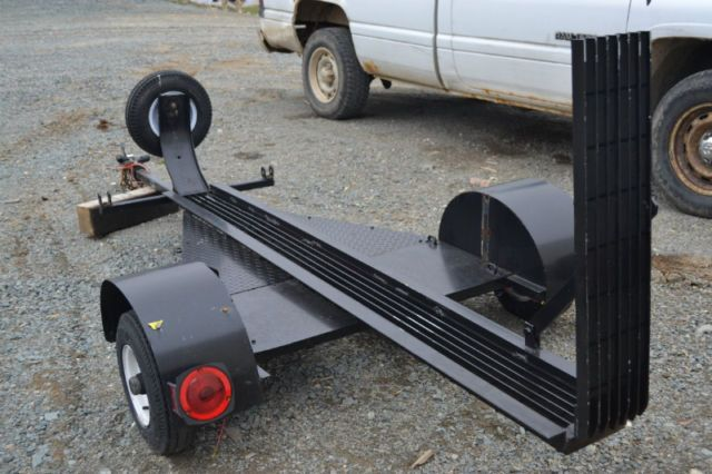 how to build a cheap atv trailer