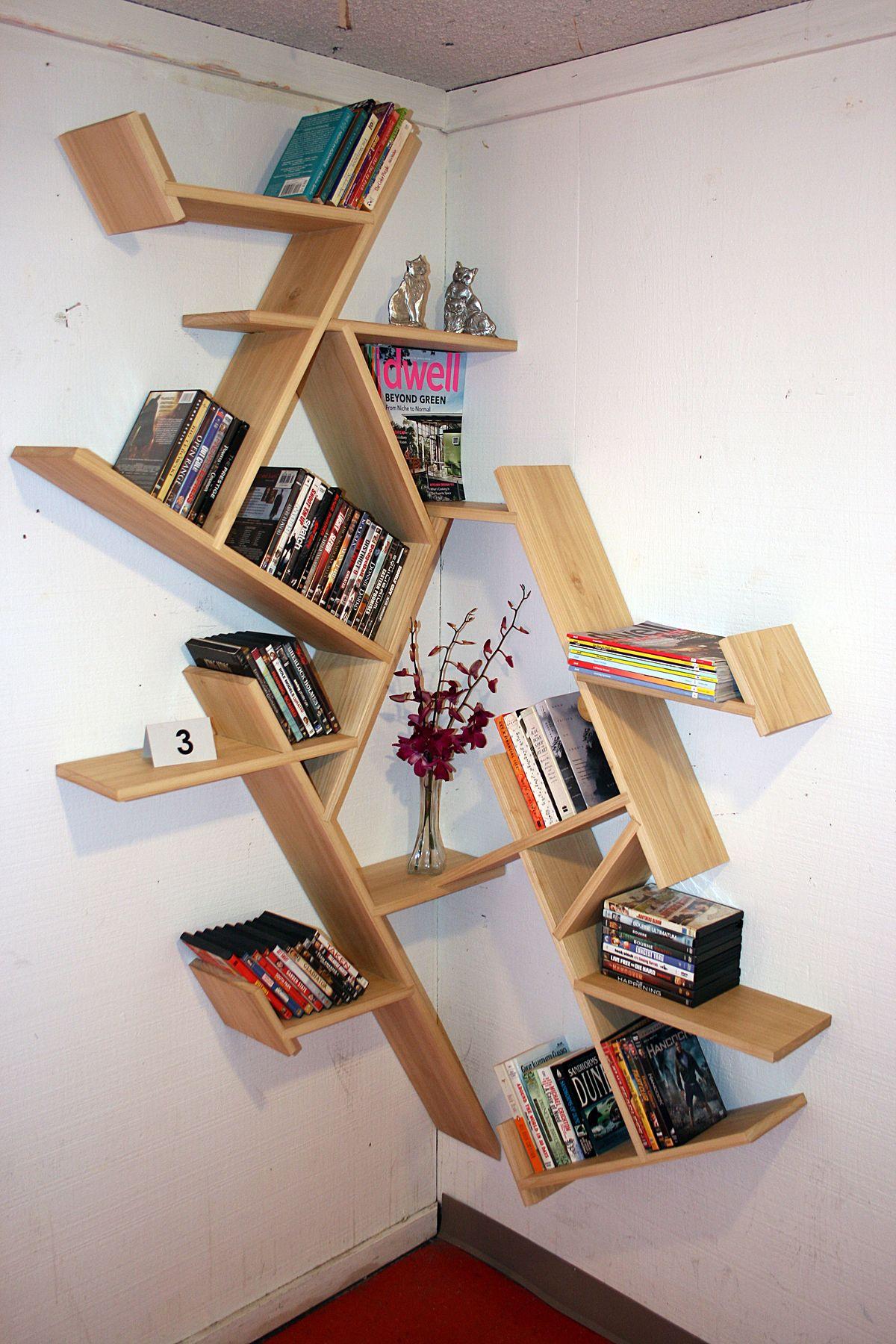 Corner Shelf Design - Vellum Furniture Competition | Shelf design ...