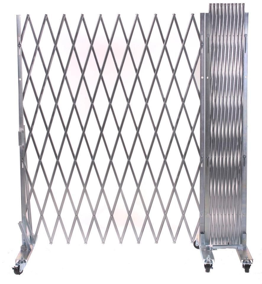 Industrial Galvanized Metal Folding Steel Portable Gates