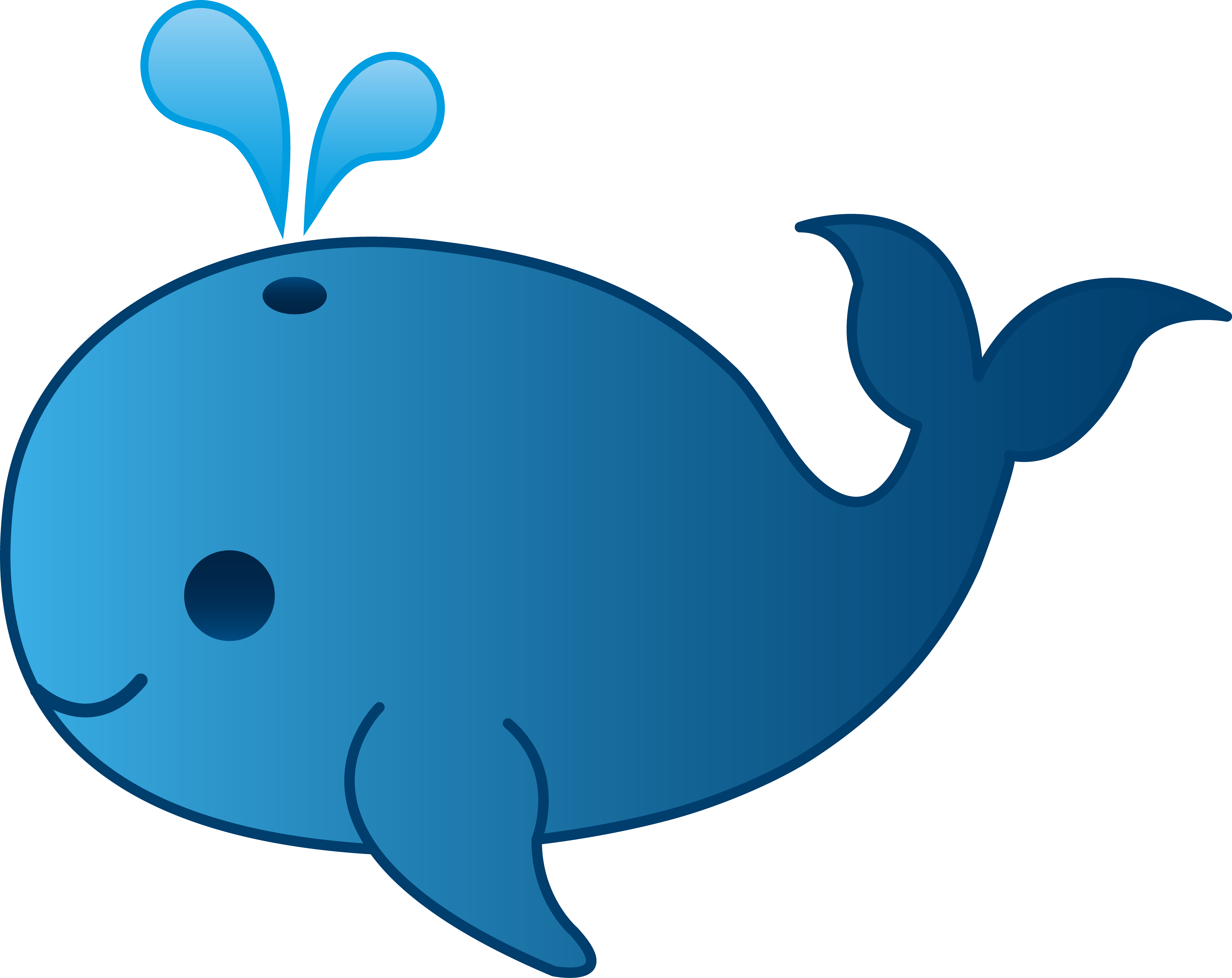 hight resolution of cartoon whale clipart clipartfest